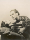 Sir John Gielgud with Adele Dixon in the Final Scene of Romeo and Juliet Photographic Print by Pollard & Crowther