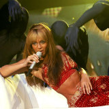Beyonce During Her Dangerous in Love Tour at the Odyssey Arena, Belfast, November 2003 Photographie