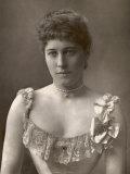 Lily Langtry English Actress Reproduction photographique par W&d Downey