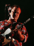 The Pixies on Stage at Reading Festival 1990 Black Francis Fotografiskt tryck