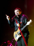 Singer Meatloaf Performs at the Belfast Odyssey, November 2003 Fotografisk tryk