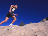 Running on Comb Ridge, Near Bluff, Utah Fotografisk trykk av Bill Hatcher