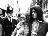 Mick Jagger Singer and Marianne Faithfull, May 1969 Photographie