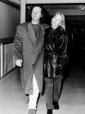 Patsy Kensit and Jimm Kerr the Lead Singer of Simple Minds Photographic Print