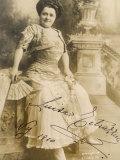Luisa Tetrazzini Italian Opera Singer in 1909 Photographie par E.f. Foley