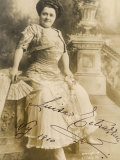 Luisa Tetrazzini Italian Opera Singer in 1909 Photographic Print by E.f. Foley