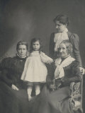 Women and Girl 1890s Photographic Print
