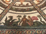 A Roman Mosaic Inside the Hermitage Museum Photographic Print by Richard Nowitz