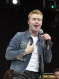 Singer Ronan Keating at the Party in the Park Concert in Hyde Park, London, July 2000 Photographie