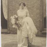 Edwardian Bride Photo Photographic Print