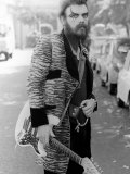 Roy Wood Dressed as a Teddy Boy for the Release of His New Single Angel Fingers, September 1973 Fotografie-Druck
