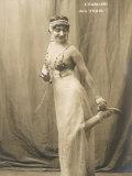 Lina Cavalieri Italian Singer in Massenet's Thais, Photographic Print