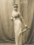 Lina Cavalieri Italian Singer in Massenet's Thais Photographic Print by A. Bert