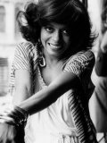 Diana Ross Singer and Former Member of the Supremes in London, July 1976 Photographic Print