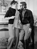 Peter O'Toole with Katherine Hepburn, November 1967 Photographic Print