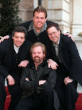 The Original Line up of the Osmonds in London to Promote Their Greatest Hits Album Photographic Print