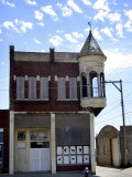 A Run-Down Historic Building in Ellsworth, Kan Photographic Print