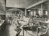 The General Post Office St. Martin'S-Le-Grand London: Foreign Mail Sorting Room Photographic Print