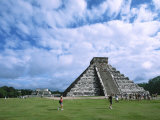 Chichen Itza Castle, Mexico Photographic Print by Charles Sleicher