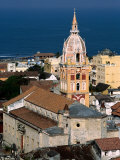 Overhead of Cartagena Cathedral Tower, Cartagena, Colombia Photographic Print by Alfredo Maiquez