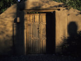 An Adobe House in Santa Fe, New Mexico, Santa Fe, New Mexico, United States Photographic Print by Stacy Gold