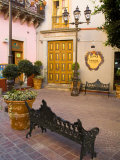 Courtyard Outside of a Coffee Shop, Guanajuato, Mexico Photographic Print by Julie Eggers