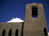 Close View of an Adobe Structure in Downtown Santa Fe, New Mexico, United States Photographic Print by Stacy Gold