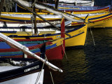 Boats in the Harbor of Collioure, France, Collioure, France, Europe Photographic Print by Stacy Gold