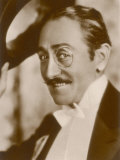 Adolphe Menjou American Film Actor Also in Silent French Films Photographic Print