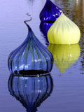 Onion Shaped Pieces of Blown Glass in Miami, Florida, December 3, 2005 Photographic Print by Lynne Sladky