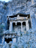 Lycian Rock Tombs, Amyntas Park, Fethiye, Turkey Photographic Print by Dallas Stribley