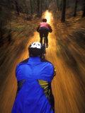 Bicyclists Perspective Papier Photo par Chuck Haney