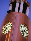 Detail of the Town Clock on Gladstone Rd, Gisborne, New Zealand Photographic Print by Paul Kennedy