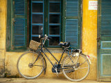 Bicycle in Hanoi, Vietnam Photographic Print by Tom Haseltine