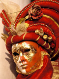 Traditional Costumes, Carnival, Venice, Italy Fotografie-Druck von Sergio Pitamitz