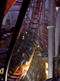 Snow Brings Another Degree of Motion to the Rollercoaster at Tivoli Photographic Print by  Keenpress