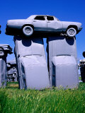 Carhenge, Alliance City, Nebraska, Photographic Print