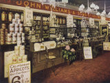 The Interior of an Edwardian Grocery Photographic Print