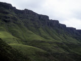 The Drakensberg Range in Lesotho Reaches 6600 Feet in Some Areas, Sani Pass, Lesotho Photographic Print by Stacy Gold