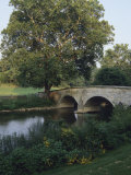 Burnside Bridge Spans Antietam Creek Photographic Print by Raymond Gehman