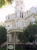 The Former California Governors Mansion Seen in Downtown Sacramento, California Photographic Print by Rich Pedroncelli