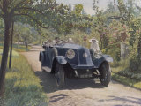 The Chauffeur of a Renault 40CV Torpedo Sport Photographic Print