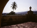 The Sierra Del Escambray Mountains Loom in the Distance, Trinidad, Cuba Photographic Print by Taylor S. Kennedy