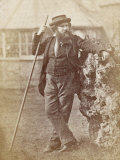 Albert Richard Smith English Writer Alpinist and Lecturer Photographic Print