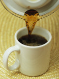 Coffee is Poured into a Mug Photographic Print by Taylor S. Kennedy
