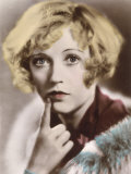 Marion Davies American Film Actress with a Questioning Look on Her Face Photographic Print