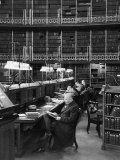 Readers in the Reading Room Have Access to One of the Largest Collections of Books in the World Photographic Print
