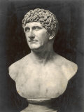 Marcus Antonius (Mark Anthony) Roman Statesman and Triumvir: Portrait Bust Photographic Print