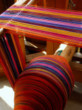Spool of Colorful Textile Yarn, Lake Atitlan, Western Highlands, Guatemala Photographic Print by Cindy Miller Hopkins