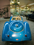 Musee National de l'Automobile, Bugatti Grille, Haut Rhin, France Photographic Print by Walter Bibikow